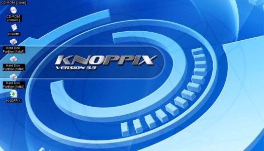 Knoppix HD Install on VMWare